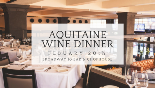 Aquitaine Wine Dinner